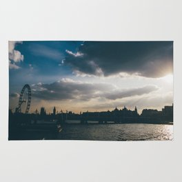 River Thames Sunset Rug