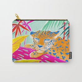 Vibrant Jungle Carry-All Pouch