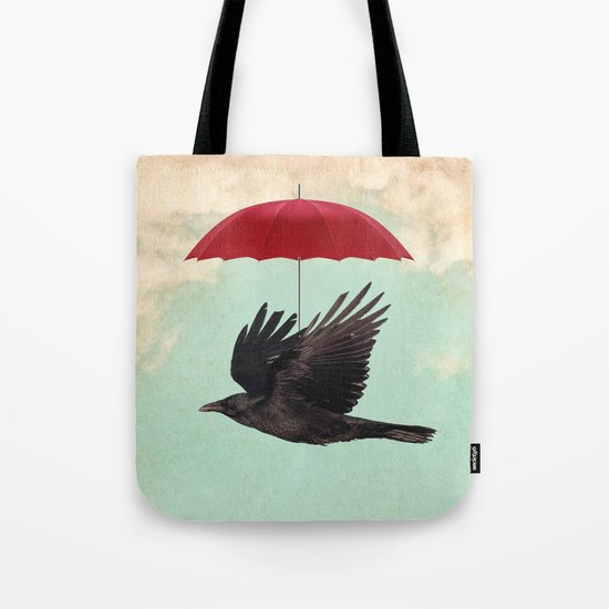 Raven Cover Tote Bag
