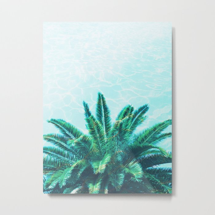 Palm Chill! Metal Print