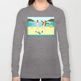 I Love You But Long Sleeve T-shirt