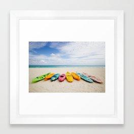 roy g. biv Framed Art Print