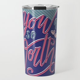You Are So Worth It - Inspirational and Motivational Lettering Travel Mug