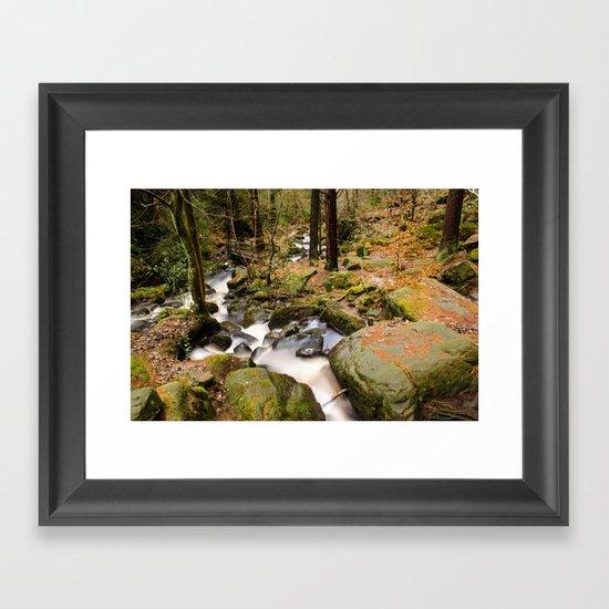 Wyming Brook Valley Framed Art Print