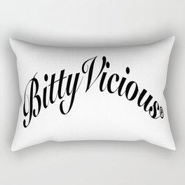 Bitty Vicious Icon Rectangular Pillow