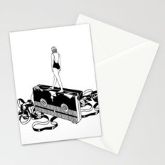 Walking on bad memories Stationery Cards