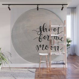 Shoot for the moon Wall Mural