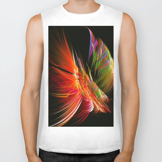 Pending Feather Biker Tank