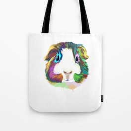 Splash Guinea Pig Tote Bag