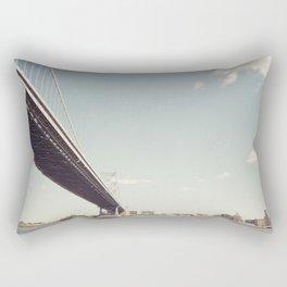 ben franklin's bridge Rectangular Pillow