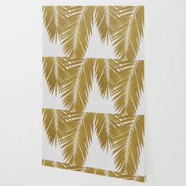 Palm Leaf Gold II Wallpaper