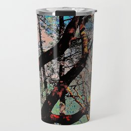 Arbutus Trees, Stoney Hill Sunset Travel Mug