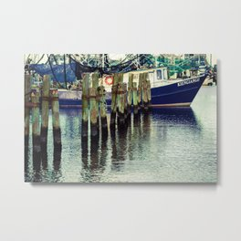 Breathe in the Salty Air Metal Print