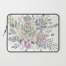 succulent watercolor 8 Laptop Sleeve