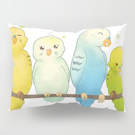 The Budgie Bunch Pillow Sham