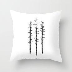 Pines Throw Pillow