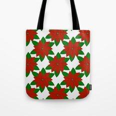 C13D Poinsettia Tote Bag