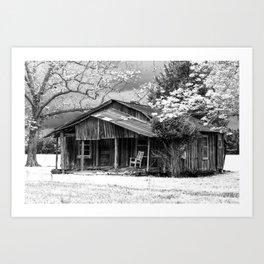 Weathered Art Print