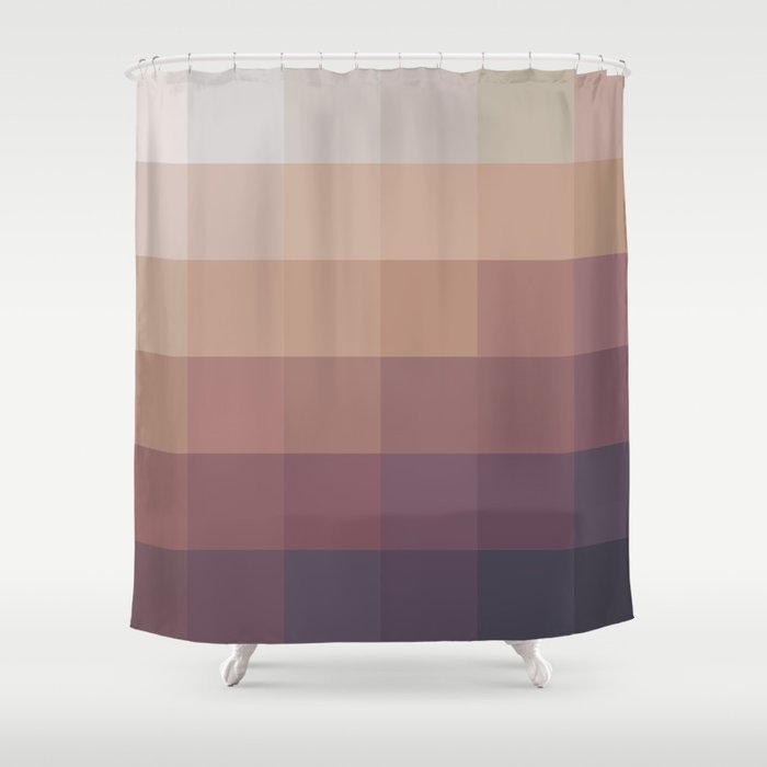 Mosaic Autumn Shower Curtain by aevaprints | Society6