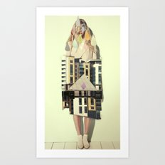 trois Art Print
