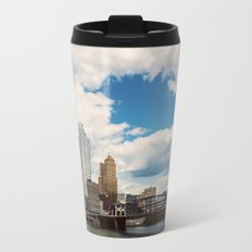 Hearts Over Pittsburgh Travel Mug