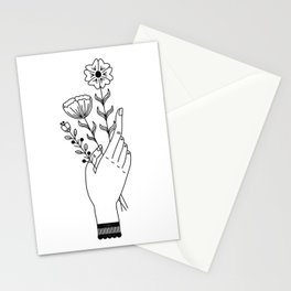 Flower Picking Stationery Cards