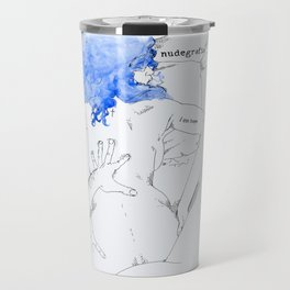 NUDEGRAFIA - 17  I am hope Travel Mug