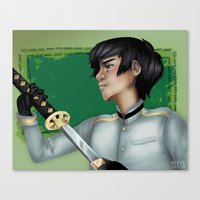 hetalia Canvas Prints featuring Hetalia print 2 by Milkyol