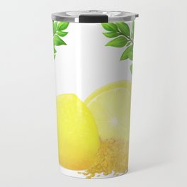 When Life Gives You Lemons, You Paint That **** Gold Travel Mug