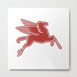 Dallas Pegasus Metal Print