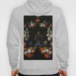 "Abraham Mignon ""Garland of Flowers"" Hoody"