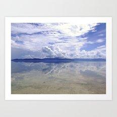 Eerie view from Green Island,  Queensland Art Print