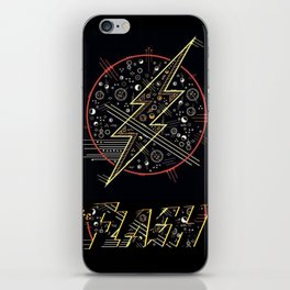 The Flash Mark iPhone Skin