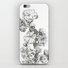 Flower Study iPhone & iPod Skin