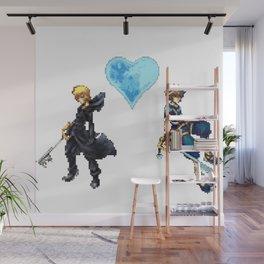 KH Sora/Roxas 8-Bit Wall Mural