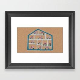 Hot House Framed Art Print