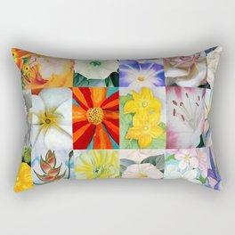 Georgia O'Keeffe Montage Rectangular Pillow