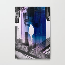 The time Traveller Metal Print