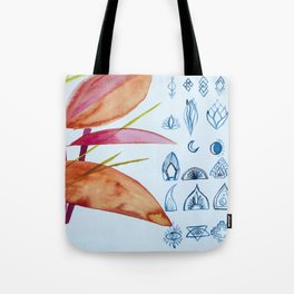 Leaf Language Tote Bag