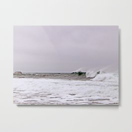 The Wave and the Wind Metal Print
