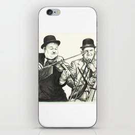 Laurel and Hardy iPhone Skin
