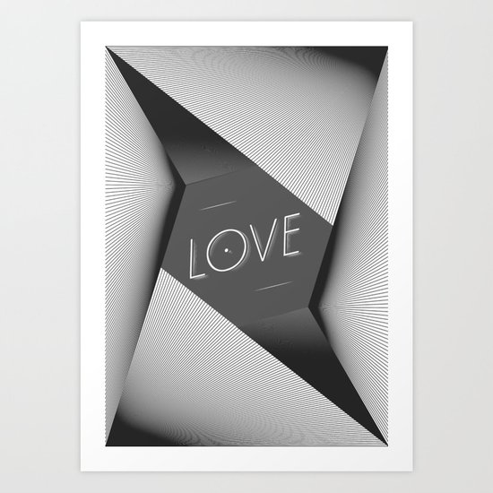LOVE_ Art Print