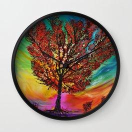 The Wow Tree Wall Clock