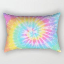 Rainbow Tie Dye Rectangular Pillow
