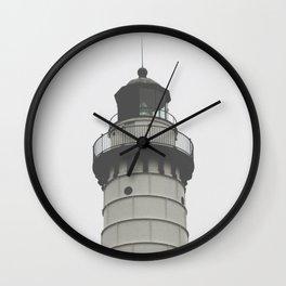 cana island lighthouse I Wall Clock