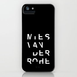 MIES iPhone Case