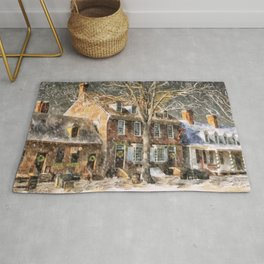 An Old Fashioned Christmas Rug