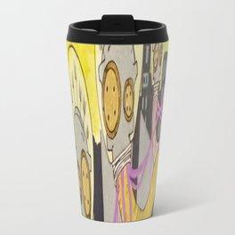 Eyes Designed to Haunt Travel Mug