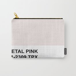 Honeymoon Hotel Petal Pink Carry-All Pouch