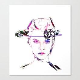 Celldweller Barbara Palvin Canvas Print